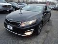 Kia Optima Hybrid Ebony Black photo #1