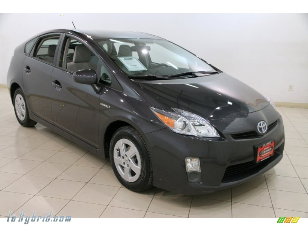 2010 Prius Hybrid II - Winter Gray Metallic / Misty Gray photo #1