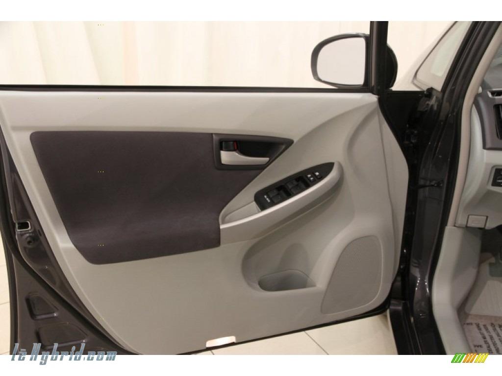 2010 Prius Hybrid II - Winter Gray Metallic / Misty Gray photo #4
