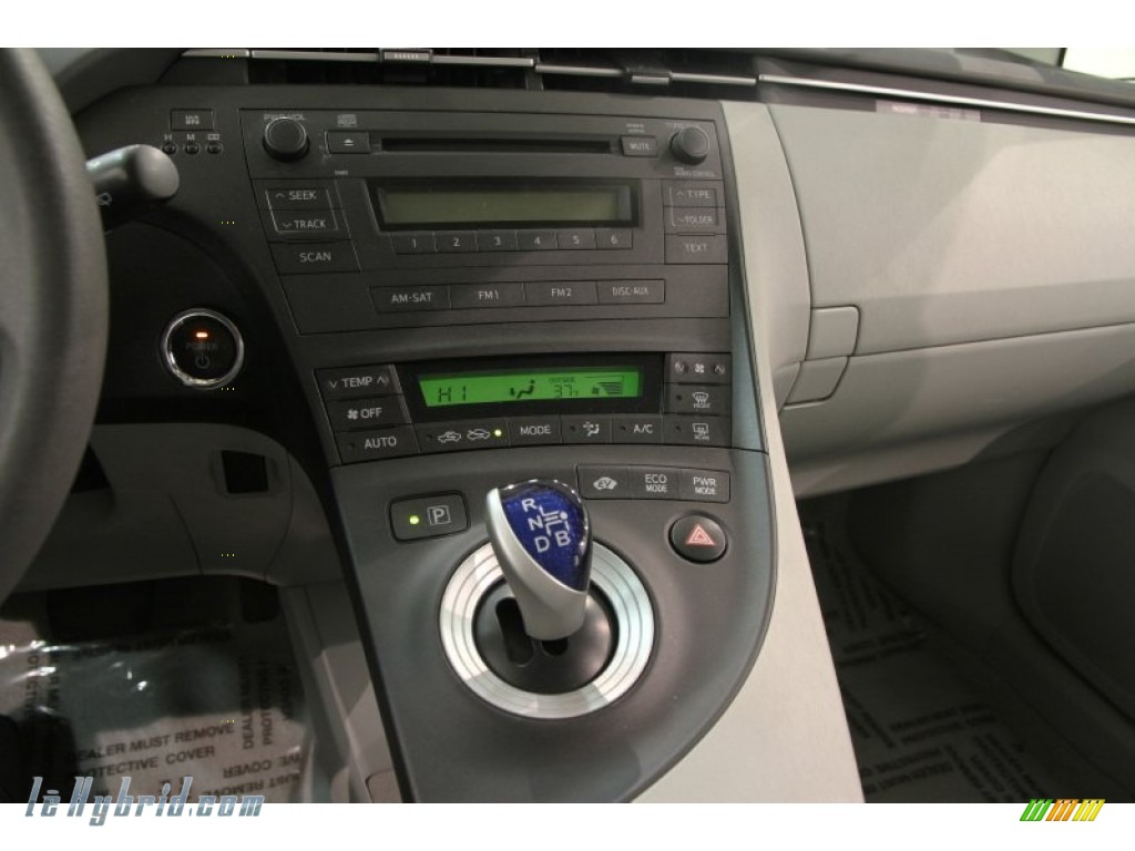 2010 Prius Hybrid II - Winter Gray Metallic / Misty Gray photo #10