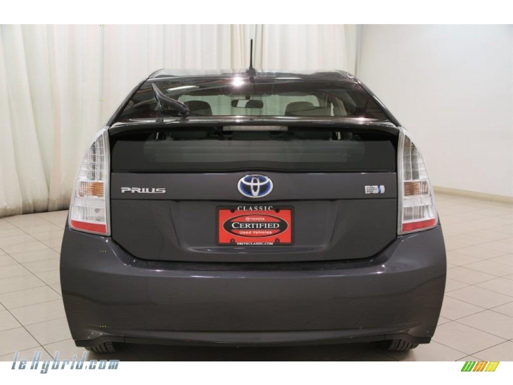 2010 Prius Hybrid II - Winter Gray Metallic / Misty Gray photo #15